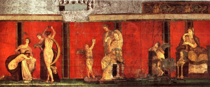 satyricon, petronio, erotismo, sessualità